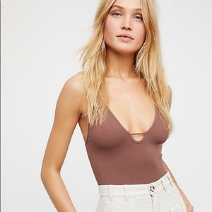 NWOT Free People Move Along Seamless Bodysuit XS/S